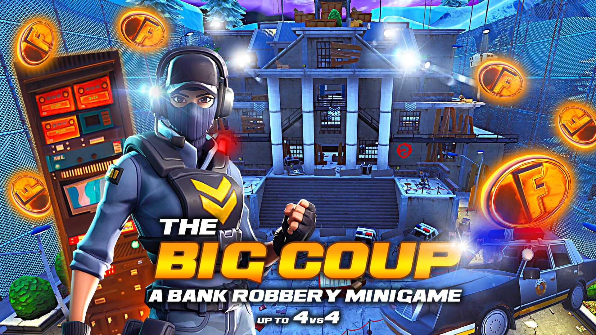 Fortnite Creative The Big Coup Bank Robbery By Prudiz