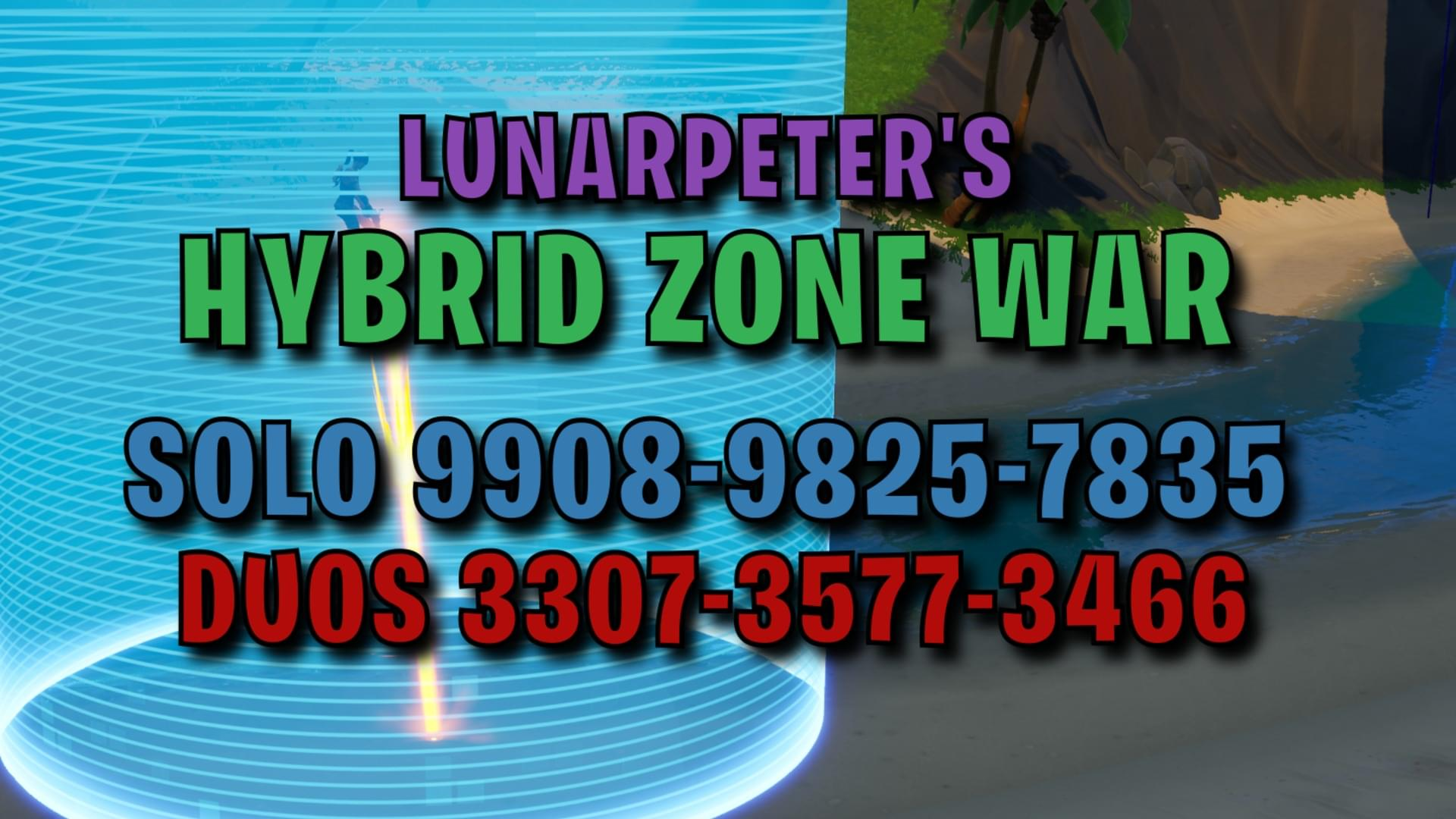 Fortnite Creative Hybrid Zone Wars Duos 1 4 By Lunarpeter
