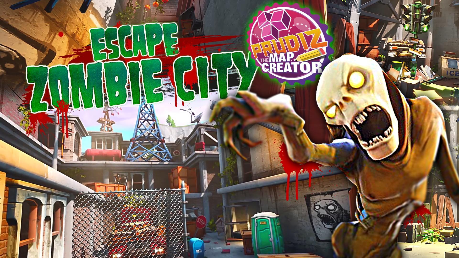 Fortnite Creative Escape Zombie City By Prudiz