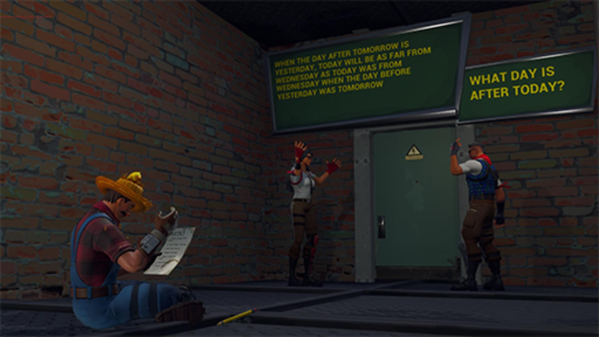 Fortnite Creative - RIDDLE MAZE FT 4THWALL NARRATOR V2 0 by